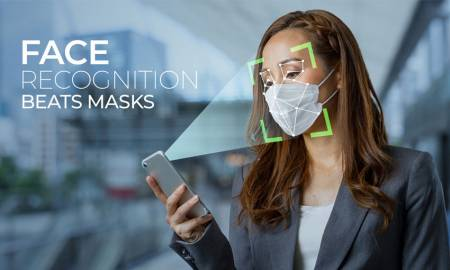 Face Recognition Beats Masks